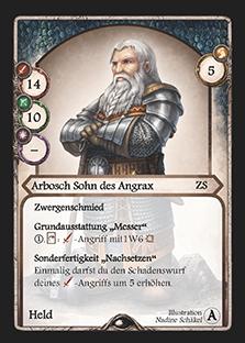 Aventuria: Arbosch Sohn des Angrax