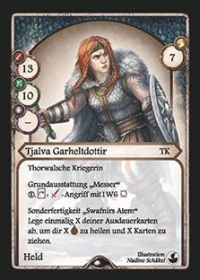 Aventuria: Tjalva Garheltdottir