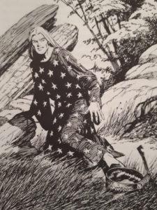 Darion Ährenfeld in einer Bärenfalle