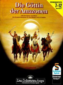 Die Göttin der Amazonen Cover Claus Biswanger